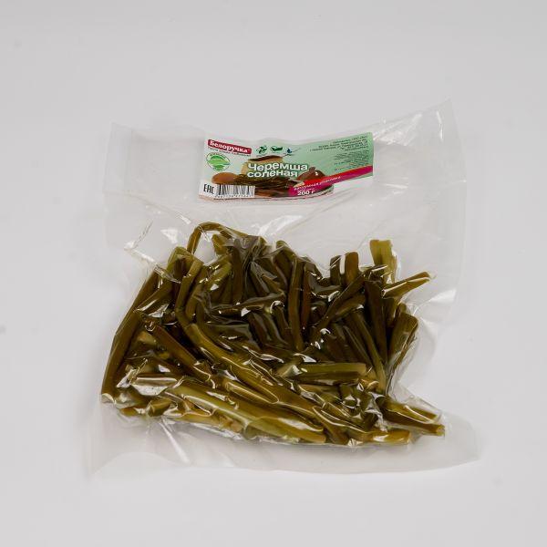 «Vacuum-packaged Pickled Wild Garlic» vacuum packaging