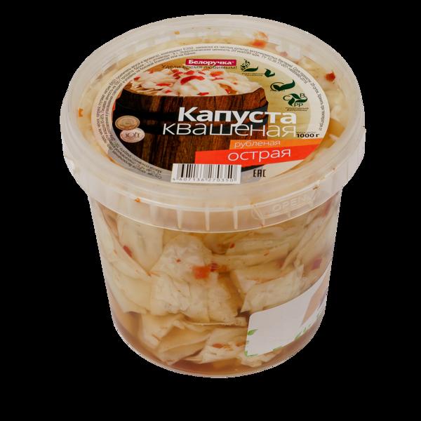 Spicy Chopped Sauerkraut