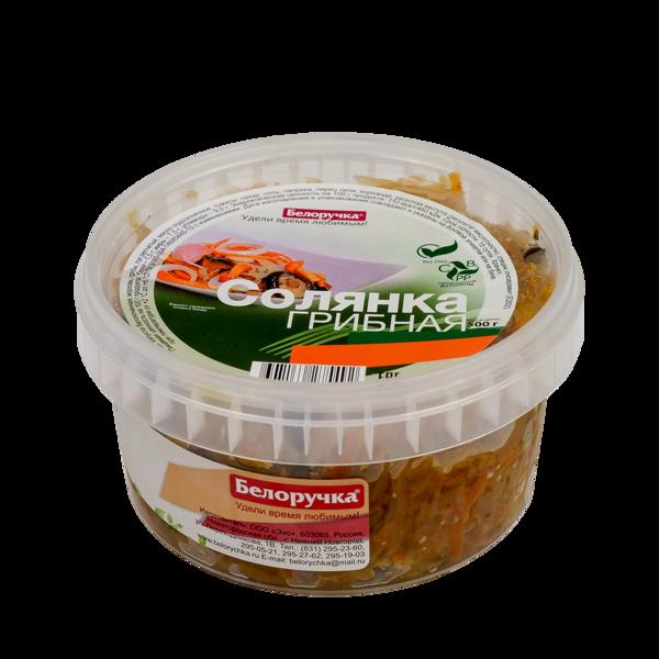 Mushroom Solyanka